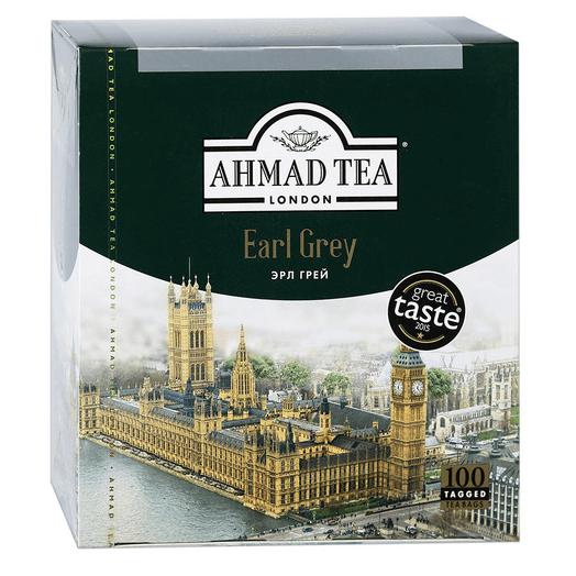 купить Ahmad Tea Earl Grey 100 пак.