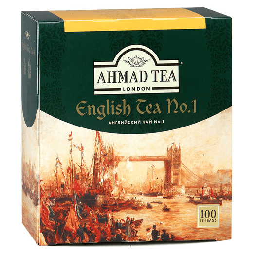 купить Ahmad Tea English №1 100 пак.