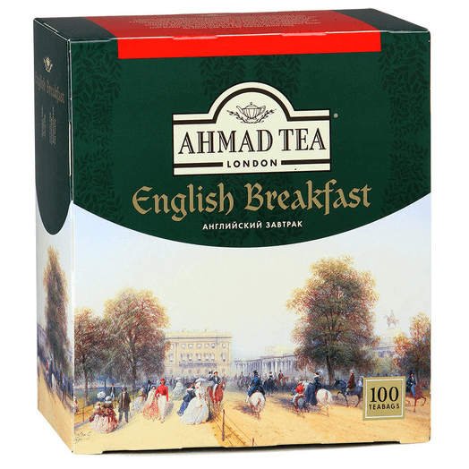 купить Ahmad Tea English Breakfast 100 пак.