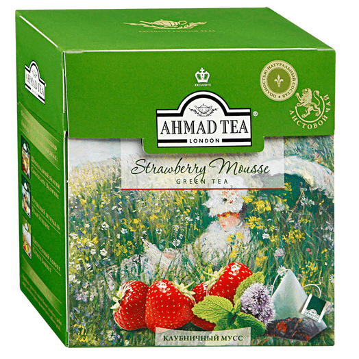 купить Ahmad Tea Strawberry Mousse 20 пак.