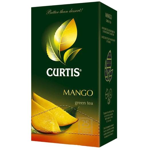 купить Curtis Mango Green Tea 25 пак.