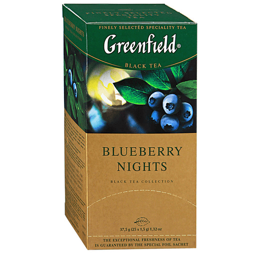 купить Greenfield Blueberry nights 25 пак.