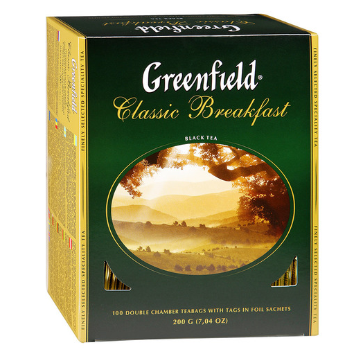 купить Greenfield Classic Breakfast 100 пак.