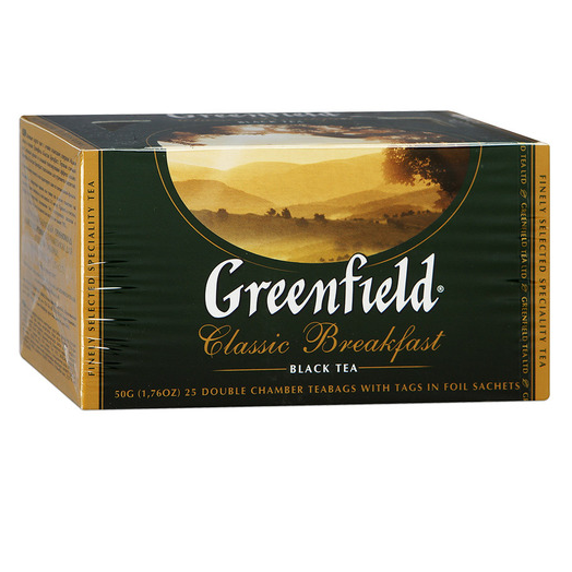купить Greenfield Classic Breakfast 25 пак