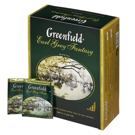 купить Greenfield Earl Grey Fantasy 100 пак.