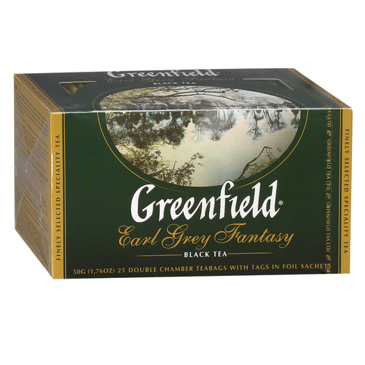 купить Greenfield Earl Grey Fantasy 25 пак.