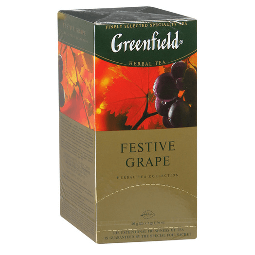 купить Greenfield Festive Grape 25 пак.