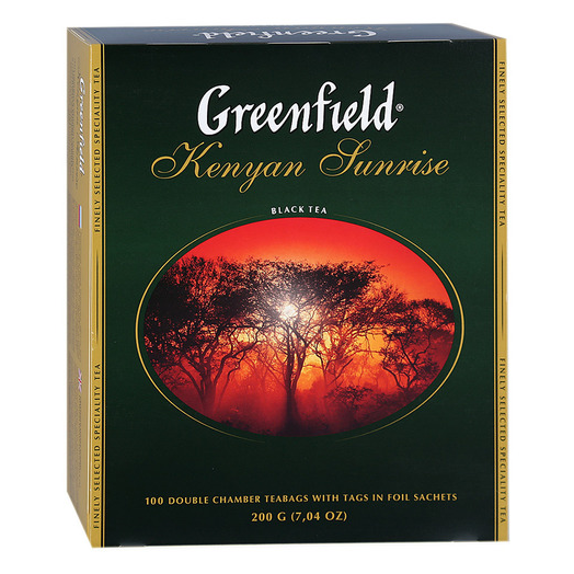 купить Greenfield Kenyan Sunrise 100 пак.
