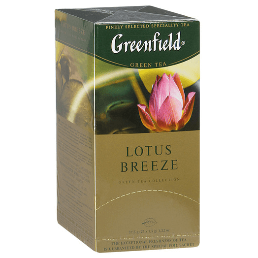 купить Greenfield Lotus Breeze 25 пак.