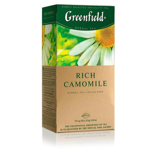 купить Greenfield Rich Camomile 25 пак.