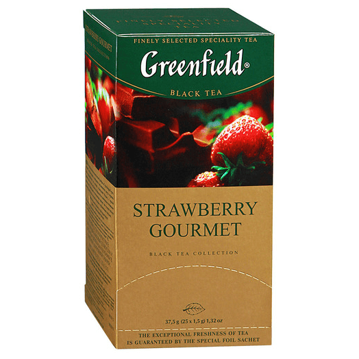 купить Greenfield Strawberry Gourmet 25 пак.