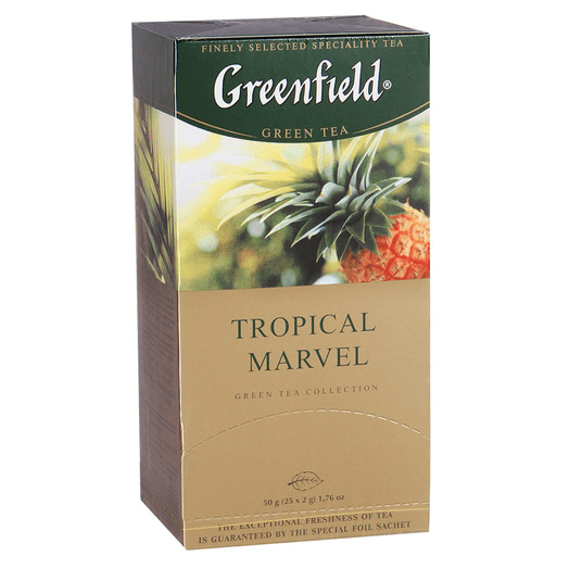 купить Greenfield Tropical Marvel 25 пак.
