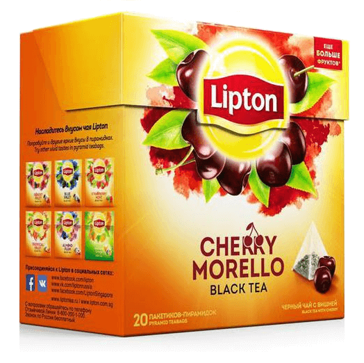 купить Lipton Cherry Morello 20 пак.