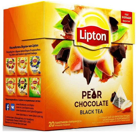 купить Lipton Pear Chocolate 20 пак.
