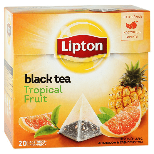 купить Lipton Tropical Fruit Tea 20 пак.