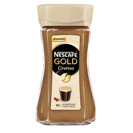купить Nescafe Gold Crema 95г