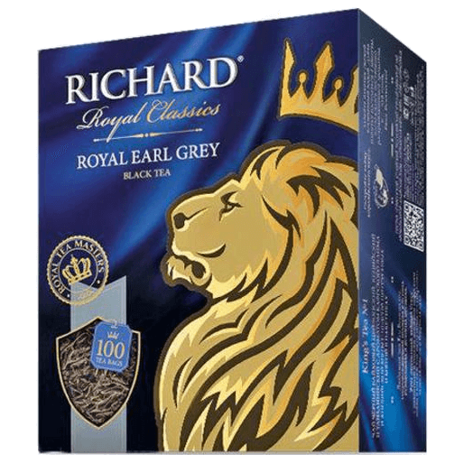 купить Richard Royal Earl Grey 100 пак.