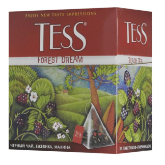 Tess Forest Dream малина ежевика 20 пак.