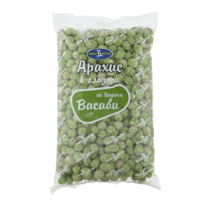 Арахис в глазури со вкусом (Васаби)