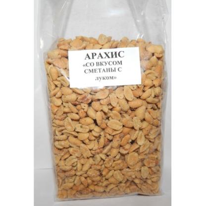 Арахис со вкусом сметаны и лука 1000г
