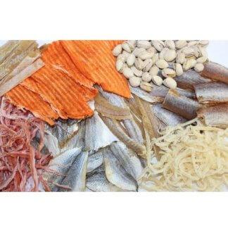 Вяленые и сушеные морепродукты