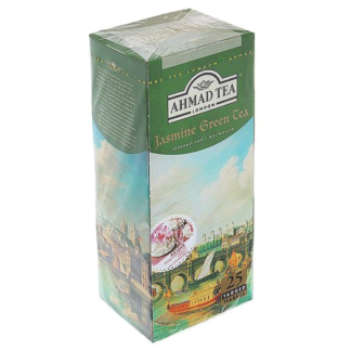 Ahmad Jasmine Green tea 25 пак.