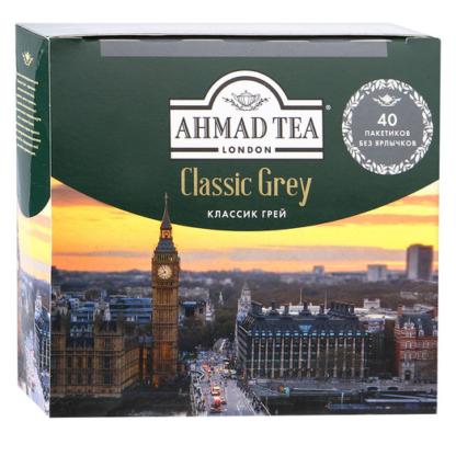 Ahmad Tea Classic Grey 40 пак.