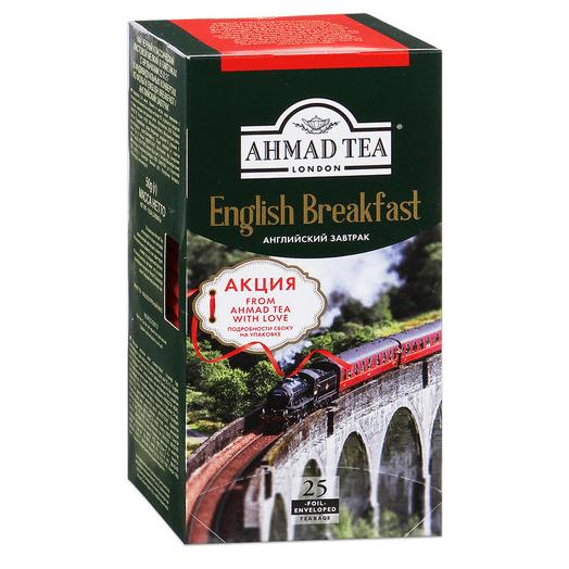 Чай Ahmad Tea English Breakfast 25 пак черный Английский ...