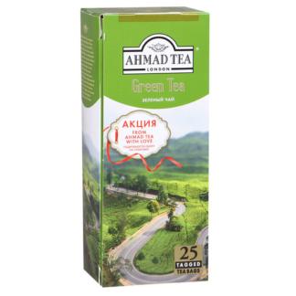 Ahmad Tea Green 25 пак.