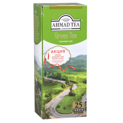 Ahmad Tea Green 25 пак.