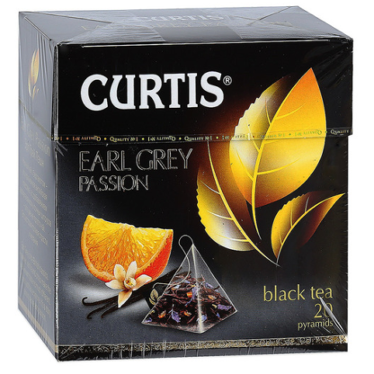 Curtis Earl Grey Passion 20 пак.