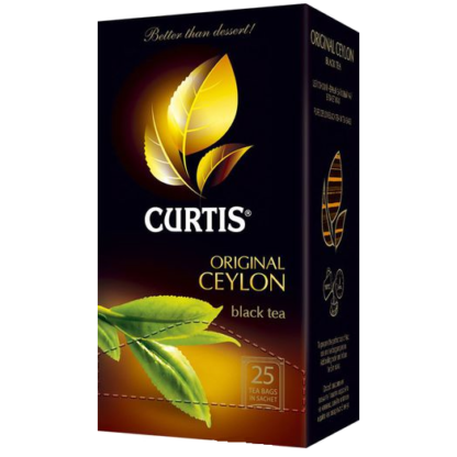 Curtis Original Ceylon Tea 25 пак.