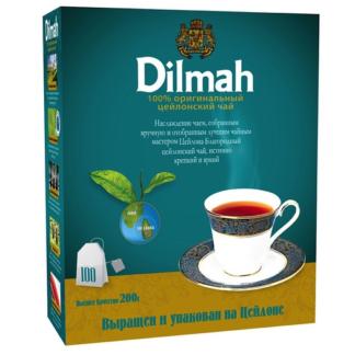 Dilmah цейлонский 100 пак.
