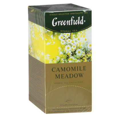 Greenfield Camomile Meadow 25 пак.