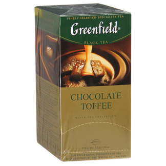 Greenfield Chocolate Toffee 25 пак.