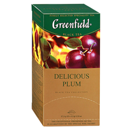 Greenfield Delicious plum 25 пак.