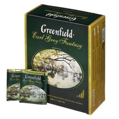 Greenfield Earl Grey Fantasy 100 пак.