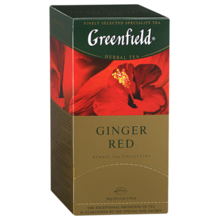 Greenfield Ginger Red 25 пак.