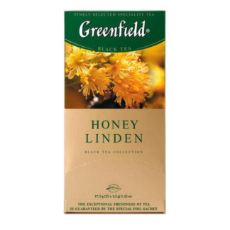 Greenfield Honey Linden 25 пак.