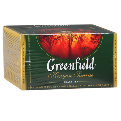 Greenfield Kenyan Sunrise 25 пак.