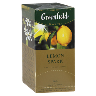 Greenfield Lemon Spark 25 пак.