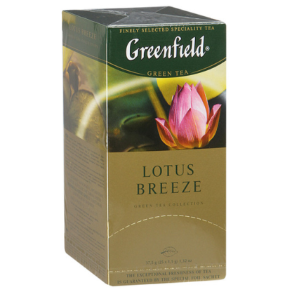 Greenfield Lotus Breeze 25 пак.