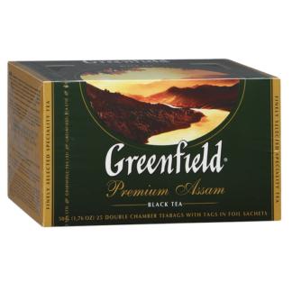 Greenfield Premium Assam 25 пак.