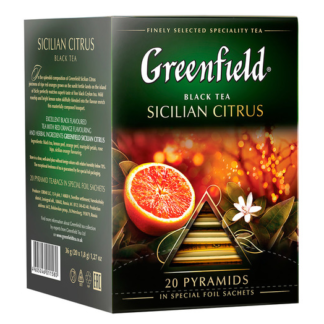 Greenfield Sicilian Citrus 20 пак.