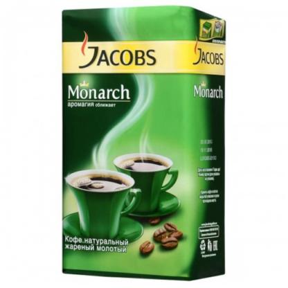 Jacobs Monarch 250г молотый
