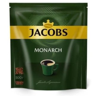 Jacobs Monarch 500г пакет