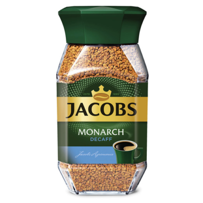 Jacobs Monarch Decaff 95г