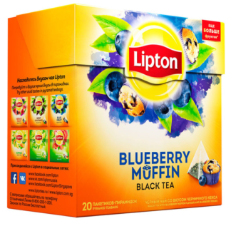 Lipton Blueberry Muffin 20 пак.