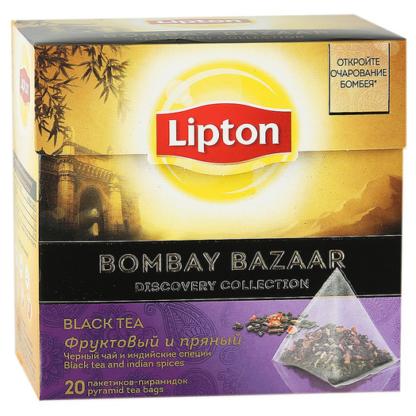Lipton Bombay Bazaar 20 пак.