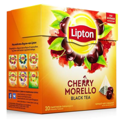 Lipton Cherry Morello 20 пак.